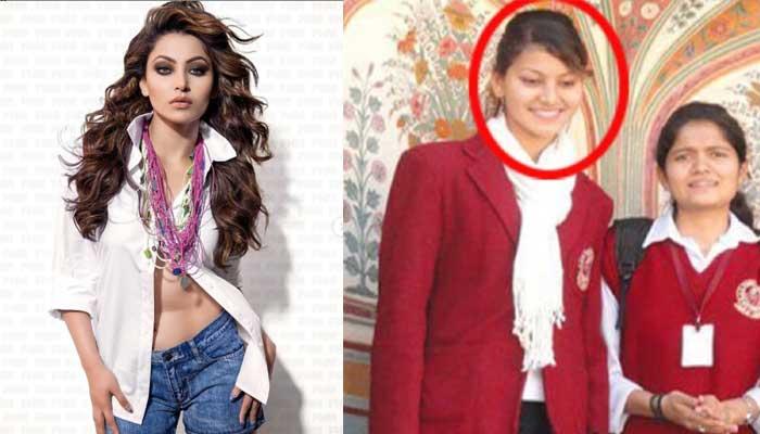 Urvashi Rautela - Bollywood Actresses in Their School Uniform