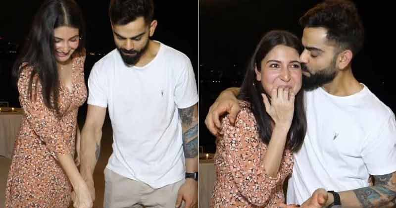 Virat Kohli Celebrate The Baby Announcement With RCB