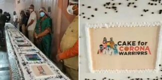 771kg Birthday Cake For PM Narendra Modi