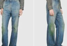 88 Thousand Rupees Gucci Grass Stain Jeans Viral Photos