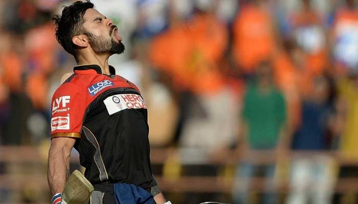 Aggressive Virat Kohli Viral Photo During IPL 2020