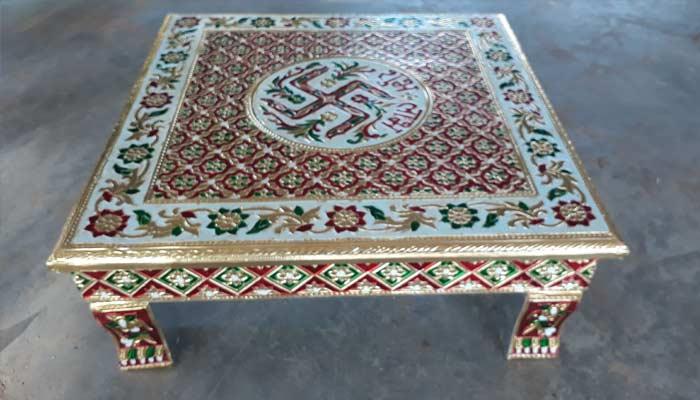 Ahmedabad Meenakari Furniture- Best Things To Buy In India