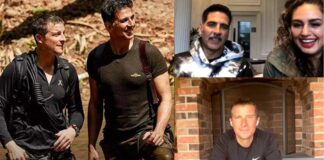 Akshay Kumar Live Chat With With Bear Grylls