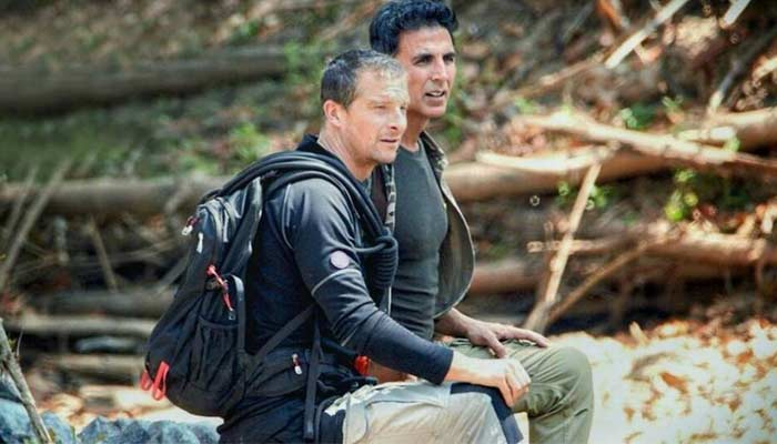 Akshay kumar Chat With Bear Grylls