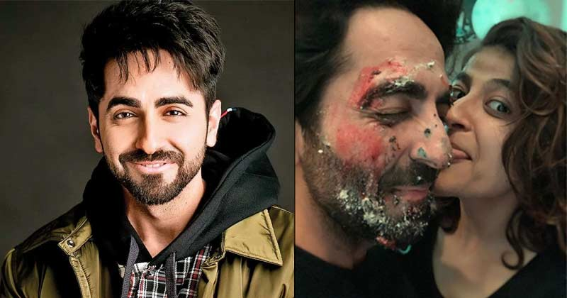 Ayushmann Khurrana Celebrate Birthday With His Wife