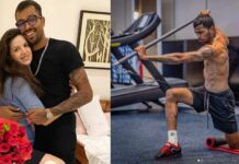 Hardik Pandya Share Workout Angry Pictures