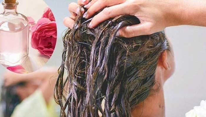 Honey And Gulab Jal Hair Mask