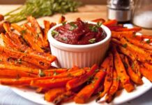 Crispy Carrot Fries Recipe