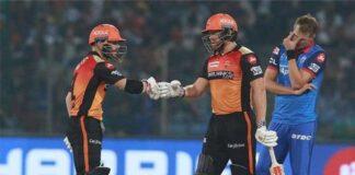 IPL 2020 Delhi Capitals And Sunrisers Hyderabad