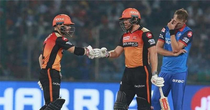 IPL 2020 Delhi Capitals And Sunrisers Hyderabad