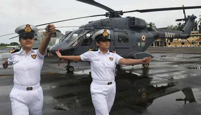 Indian Navy First Women Combatants