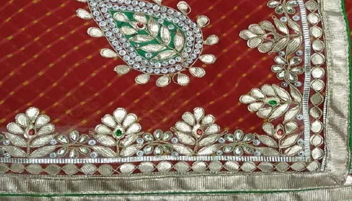 Jaipur Gota Work Saree -Best Indian Things