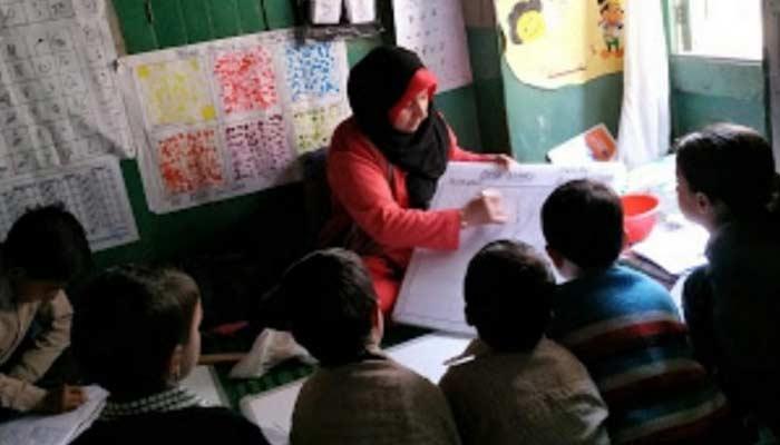 Kashmir Government Teacher Roohi Sultana
