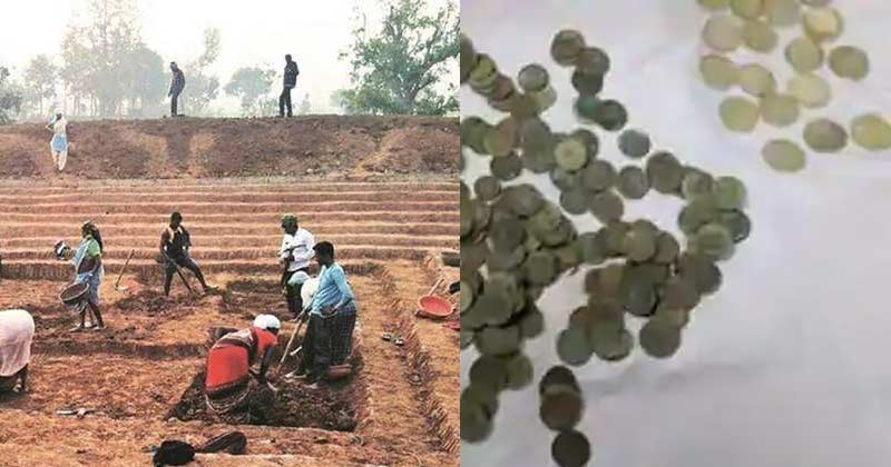 MGNREGA Workers Find Pitcher Full Of Coins