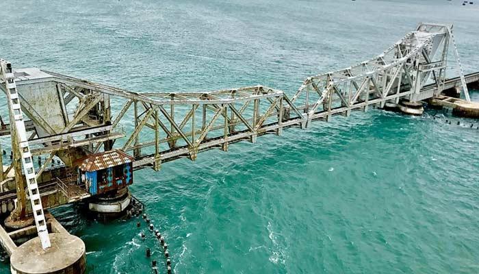 Rameshwaram Pamban Bridge