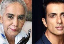 Sonu Sood help Surekha Sikri After Brain Stroke