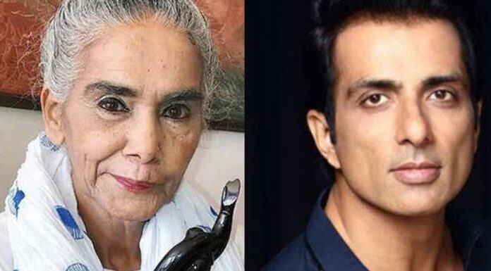Sonu Sood help Surekha Sikri After Brain Stroke