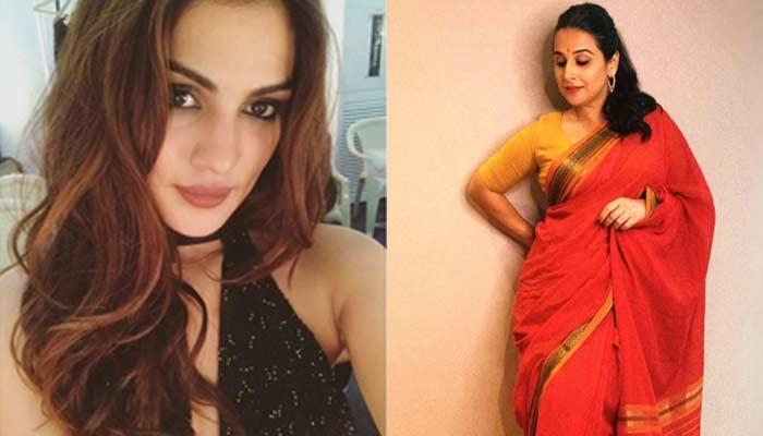Vidya Balan Come Out With Rhea Chakraborty