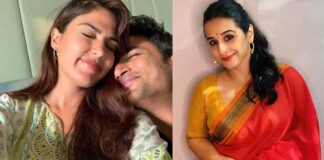 Vidya Balan Slams Vilification Of Rhea Chakraborty