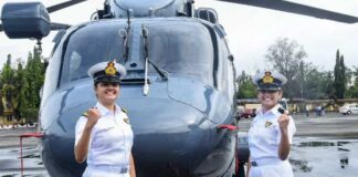 Women Officers To Operate Helicopters From Warships