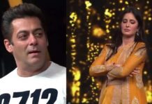 katrina Kaif imitates Salman Khan In Front Of Him