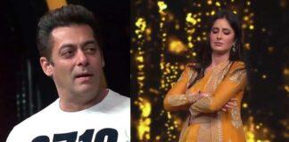 katrina Kaif imitates Salman Khan In Front Of Him
