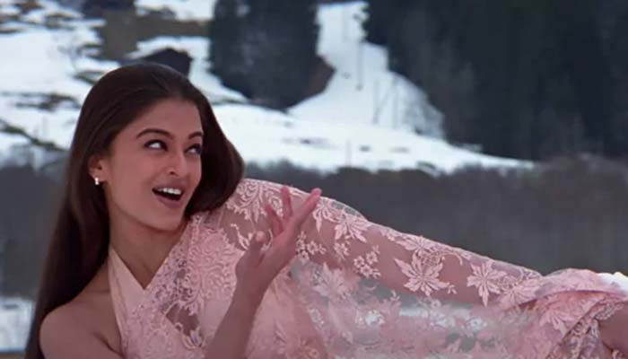 Aishwarya Rai Shot In Freezing Cold