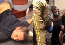 Drunk Girl Stuck Inside Washing Machine