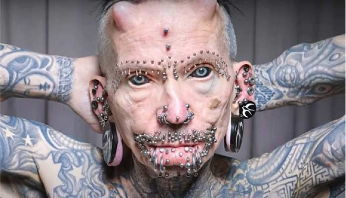 German Man Sets World Record For Body Modification