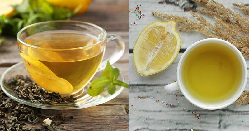 Green Tea Or lemon Tea In Hindi