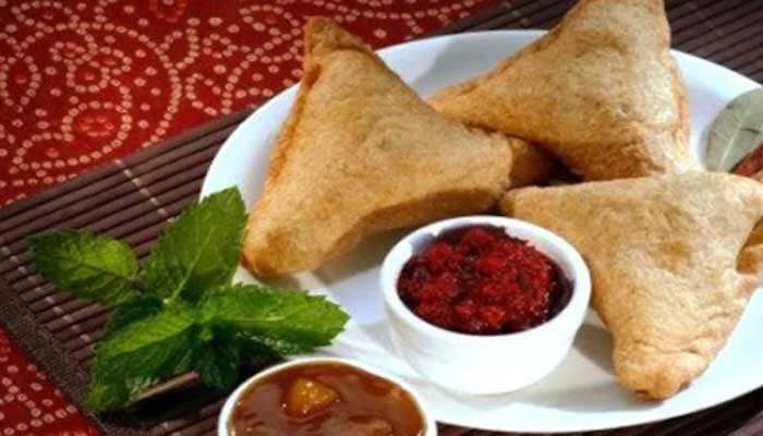 How To Make Singhare Ke Atte Ka Samosa In Hindi