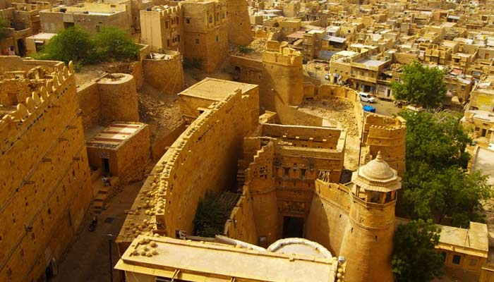 In Jaisalmer Fort Prople Live Without Paying Rent