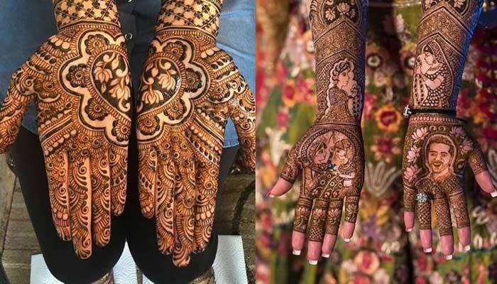 Karwa Chauth 2020 Mehndi Design