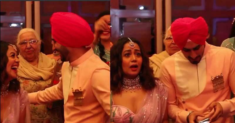 Neha Kakkar And Rohanpreet Singh Roka Ceremony Video Viral