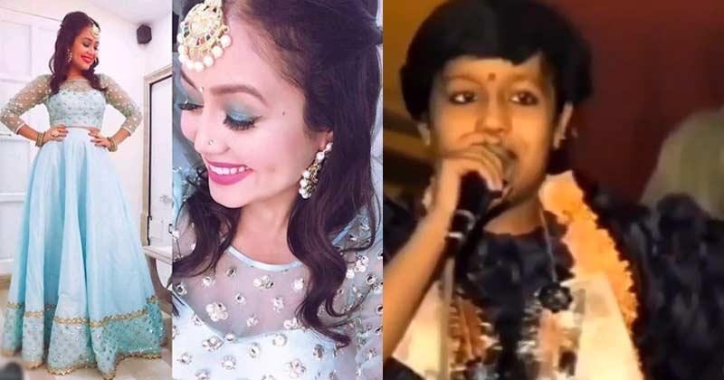 Neha Kakkar Childhood Video