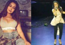 Neha Kakkar Singing Song On Stage Viral Throwback Video