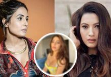 Nikki Tamboli Touched Feet Of Hina Khan And Gauhar Khan
