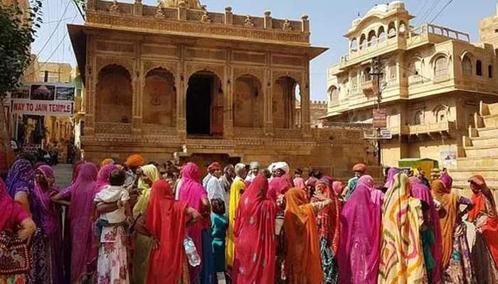 Jaisalmer Fort In Rajasthan