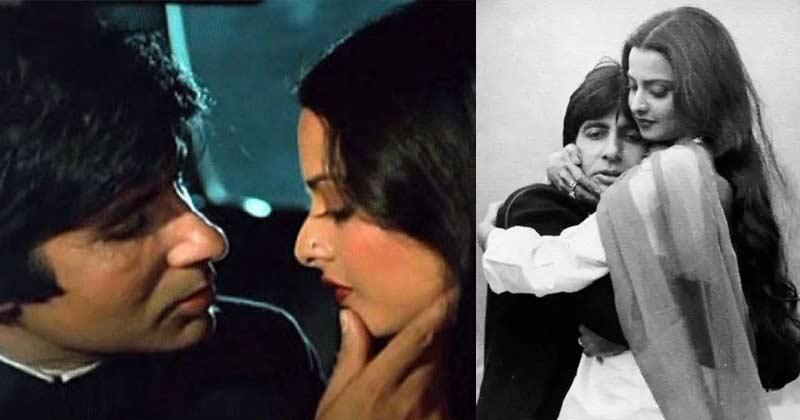 why did Rekha And Amitabh Bachchan broke up