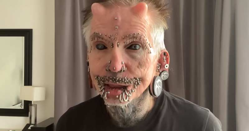 Rolf Buchholz Set Guinness World Record For Body Modification