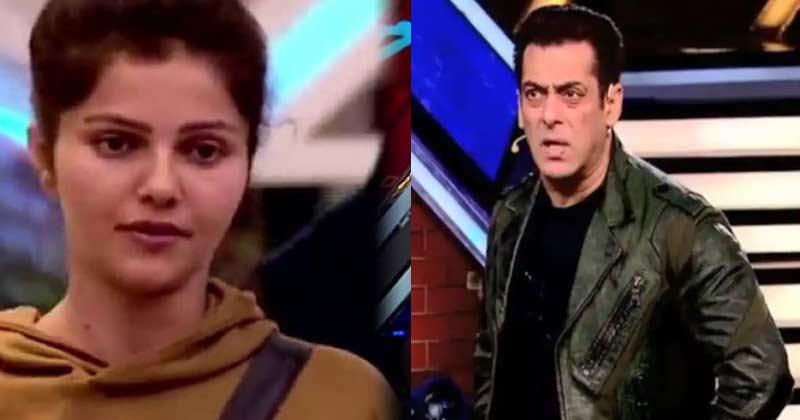 Salman Khan Angry Reaction On Rubina Dilaik