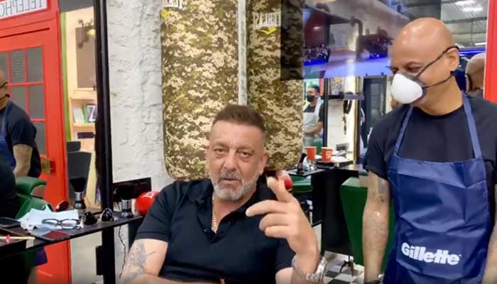 Sanjay Dutt Viral Video