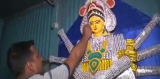 Sanjeeb Basak Create Doddess Durga Idol With Expired Tablet