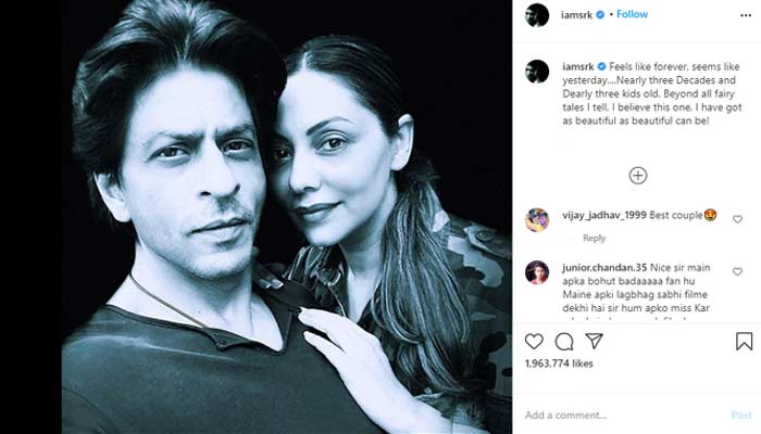 Shah Rukh Khan Share Post On Social Media