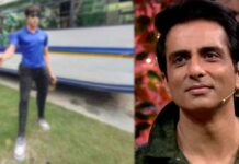 Sonu Sood Honoured With Life Size Idol At Durga Puja Pandal