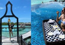 Taapsee Pannu Share Pictures Of Maldives