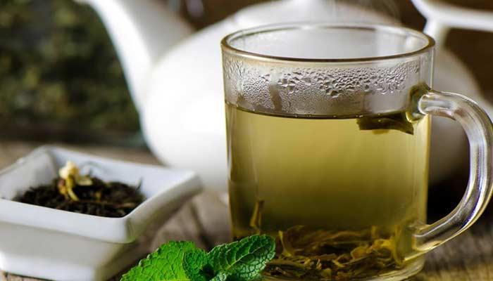 Tea Or Green Tea And Lemon Tea