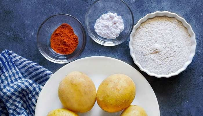 Vrat Aloo Ki Kadhi Ingredients