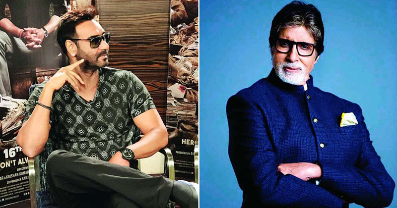 Ajay Devgan Direct Amitabh Bachchan In Upcoming Movie