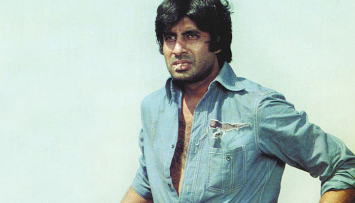 Amitabh Bachchan In Sholay Shooting